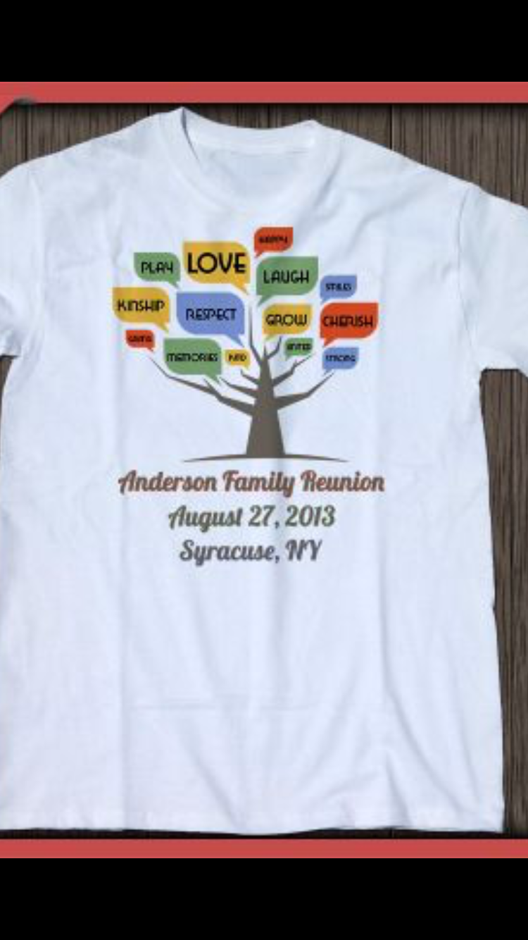 T Shirt Idea Business Tshirts Pinterest Family Reunion Shirts