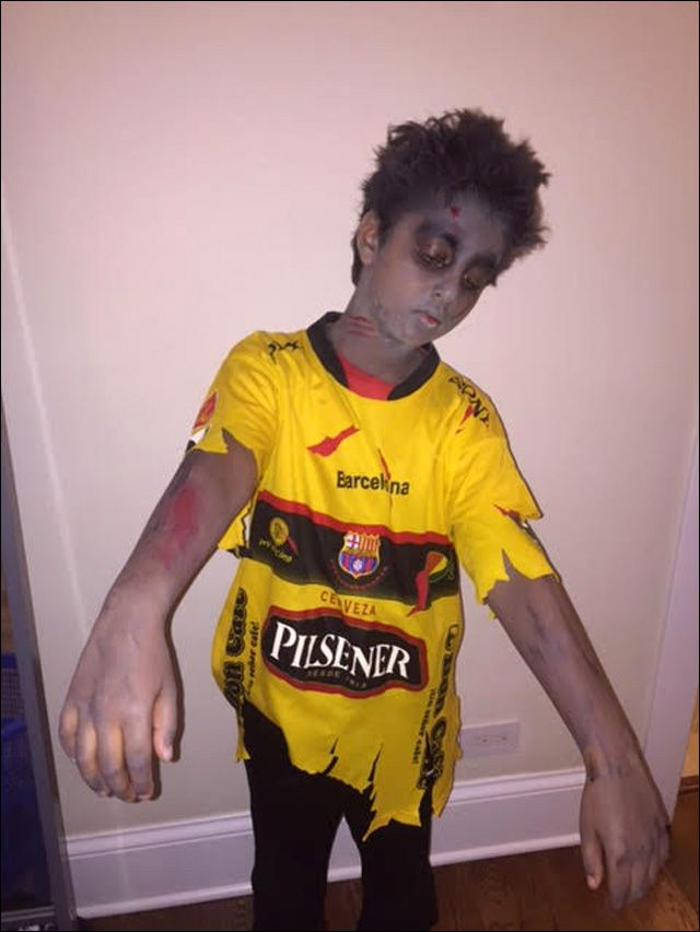 Image Result For Zombie Soccer Player Costume Zombie Costume Soccer Player Costume Halloween Costumes