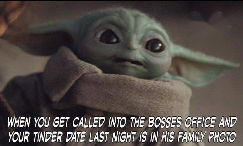 The Real Baby Yoda On Instagram Follow Errl Funny Memes Images Funny Relatable Memes Funny Memes