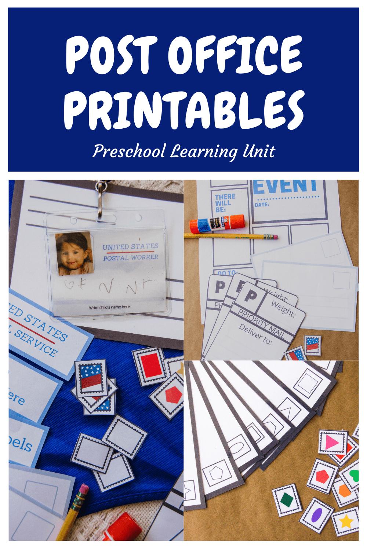 Post Office Preschool Unit - Lil Mama Bear Blog