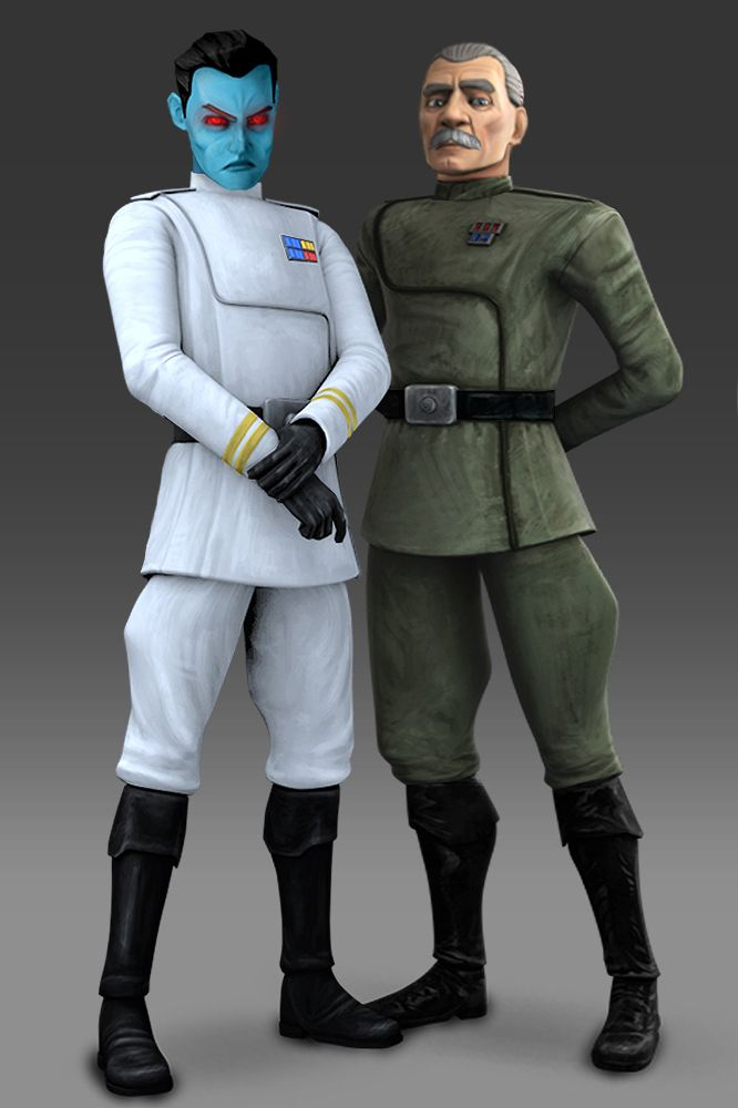 Rebels Report On Grand Admiral Thrawn Star Wars Rebels Star