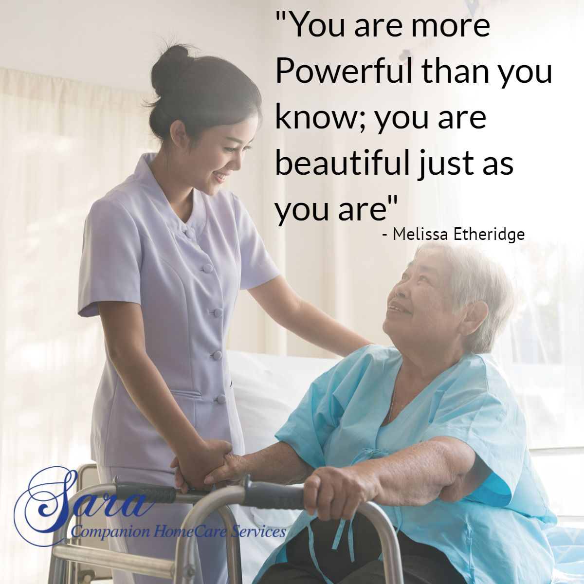 You Have the Power Health services, Home care, Happy