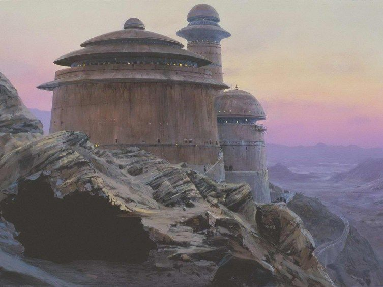 star wars original Matte Paintings