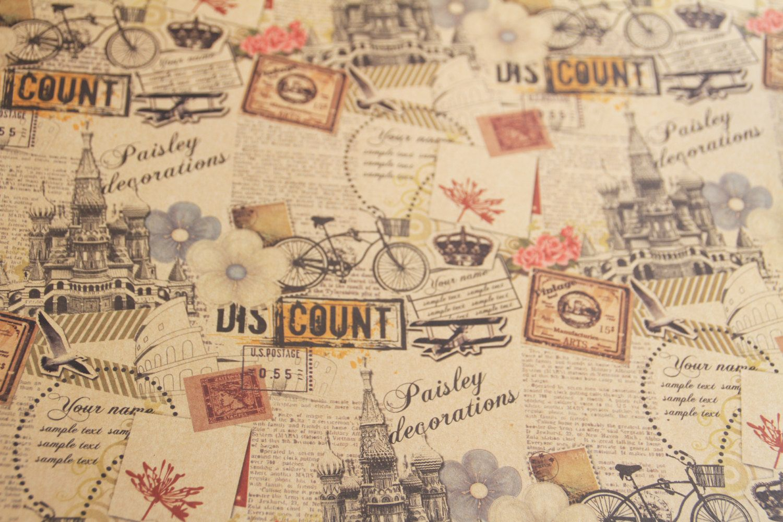 Scrapbook Travel Background
