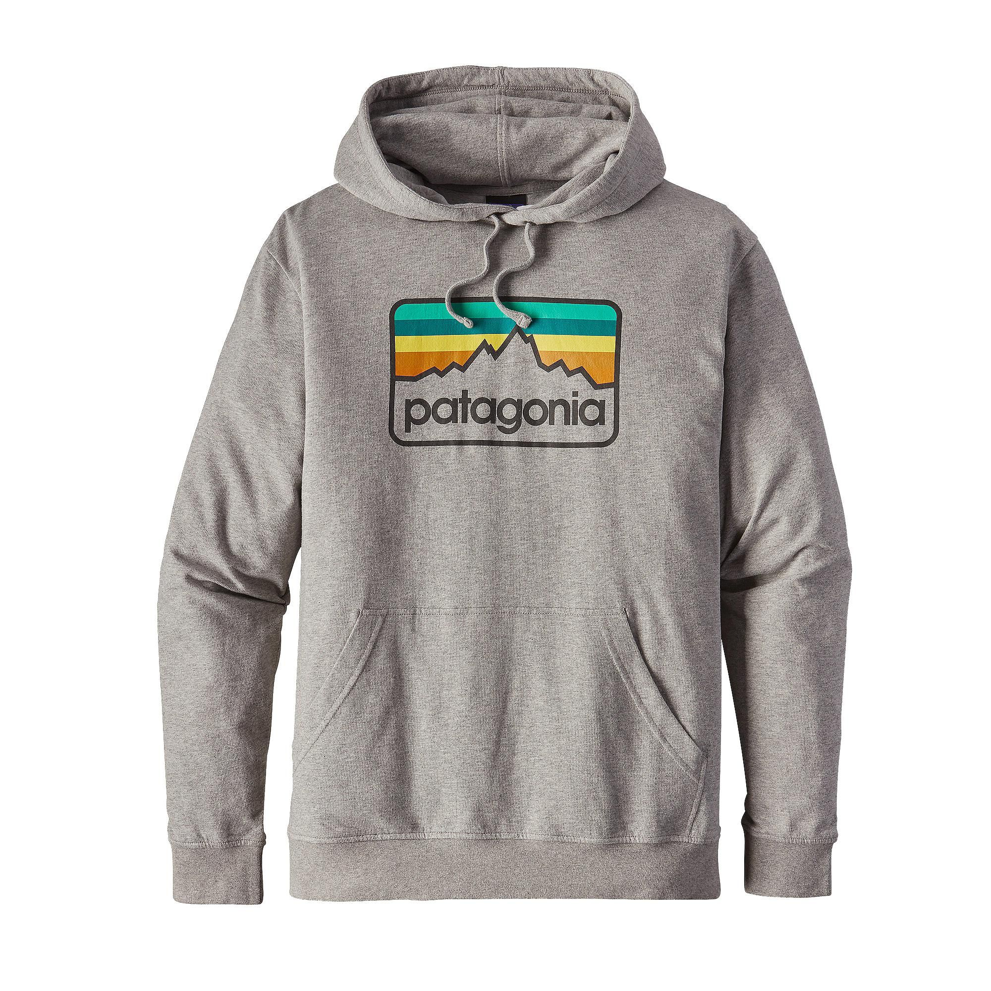 Scout your line wearing the Patagonia Men's Line Logo Badge