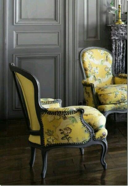 Our Dining Room Chairs With Jim Thompson Fabric