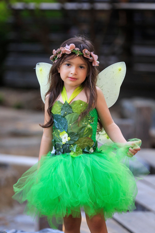 Woodland Fairy Dress Realistic Tinkerbell Fairy Costume Green Foliage Leaf Fairy Costume Fairy Birthday Dress Fairy Dress Costume Fairy Dress Fairy Costume [ 3000 x 2000 Pixel ]