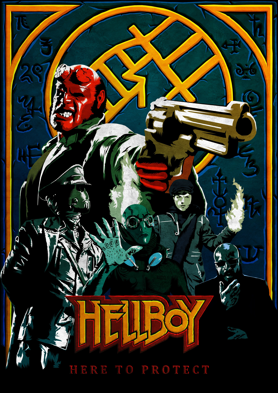 Hellboy Hd Wallpaper From Gallsource Com Right Hand Of Doom