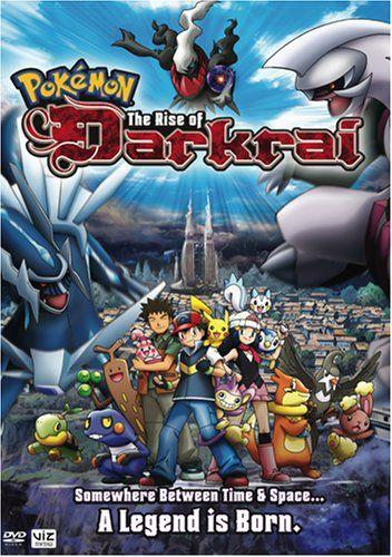 Pokemon Movie The Rise Of Darkrai Pokemon Movies Pokemon Animated Movies