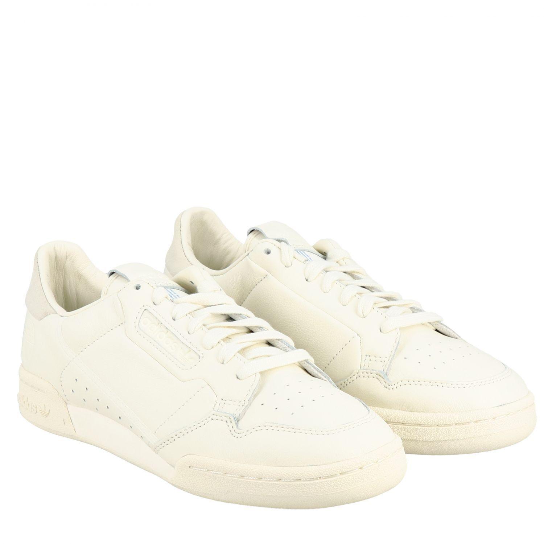 Adidas Originals Outlet: Baskets en cuir Continental 80 | Baskets ...