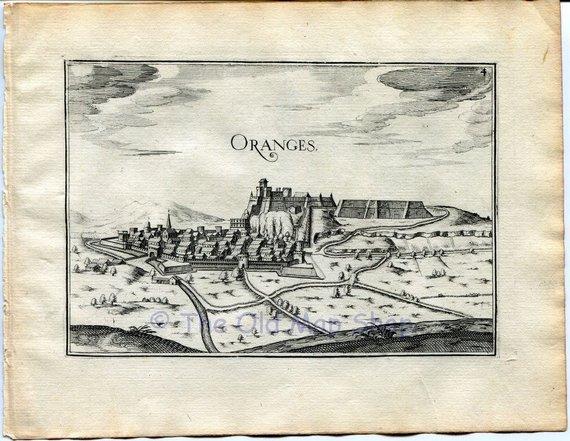 1634 Nicolas Tassin View Orange Vaucluse Provence Alpes Cote D