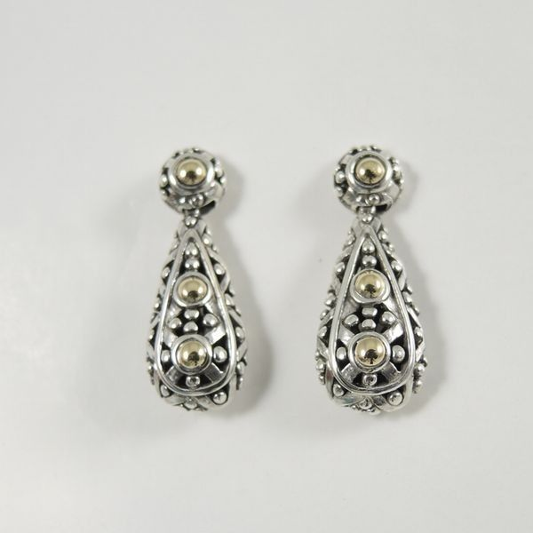 John Hardy Jaisalmer Two-Tone Teardrop Earrings wNuS617