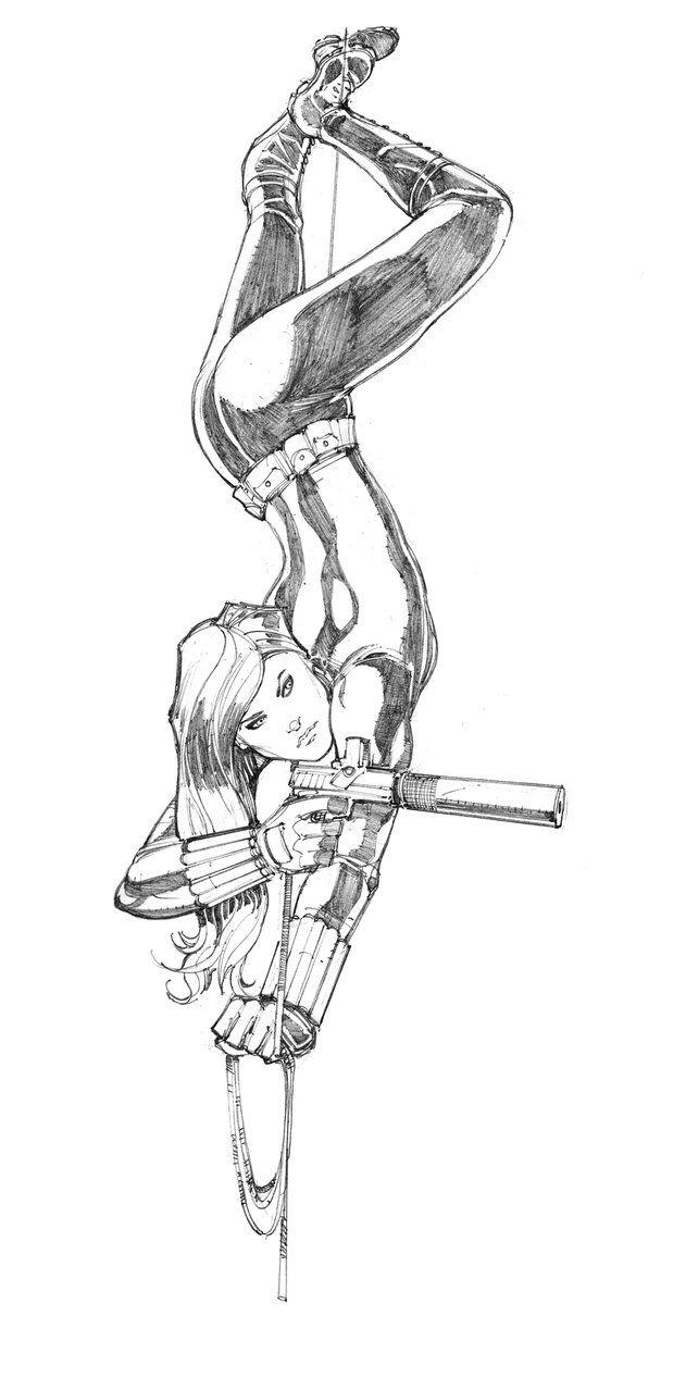 Black Widow by Max-Dunbar on @DeviantArt | Karikatür | Pinterest