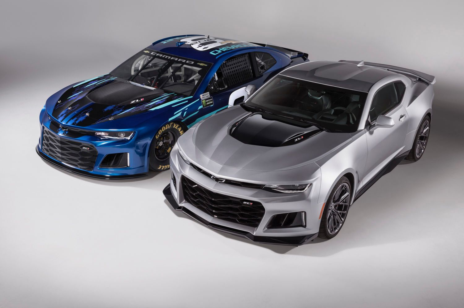 Chevrolet Unveiled Its 2018 Monster Energy Nascar Cup Series Car Thursday At Its Corporate Headquarters In Detroit By Chevrolet Camaro Zl1 Camaro Zl1 Camaro
