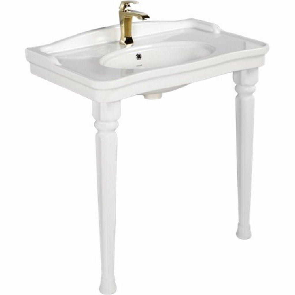Creavit Antik Washbasin With Antik Pedestals An080 An100 Baker