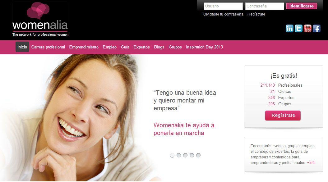 Womenalia, la plataforma para mujeres profesionales, consigue un millón de euros con la entrada de nuevos inversores.