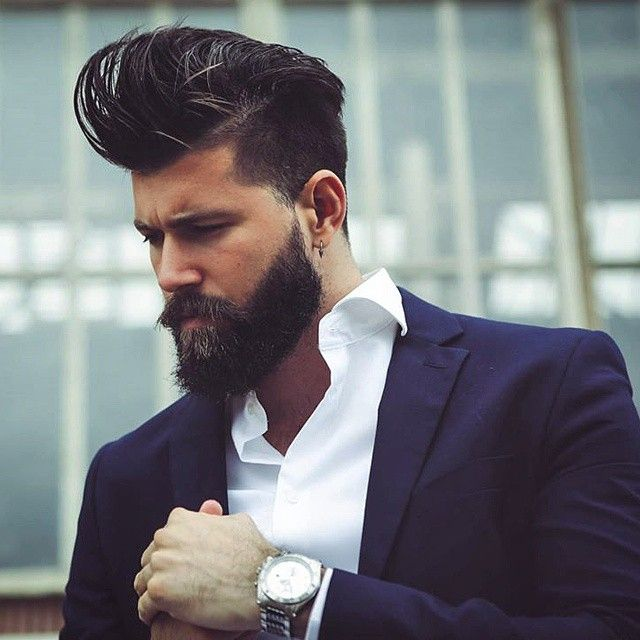 Top style de barbe bearded men pinterest barbes images et coiffures - Styles de barbe ...