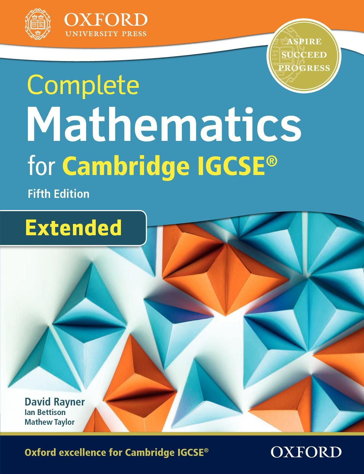 Print Complete Mathematics For Cambridge Igcse Fifth