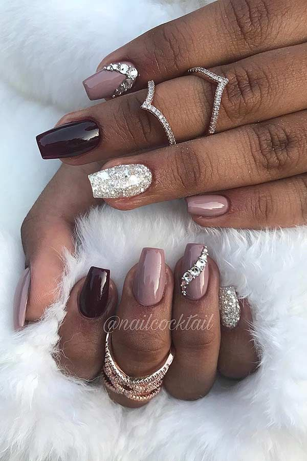 41 Classy Ways to Wear Short Coffin Nails | Light pink ...