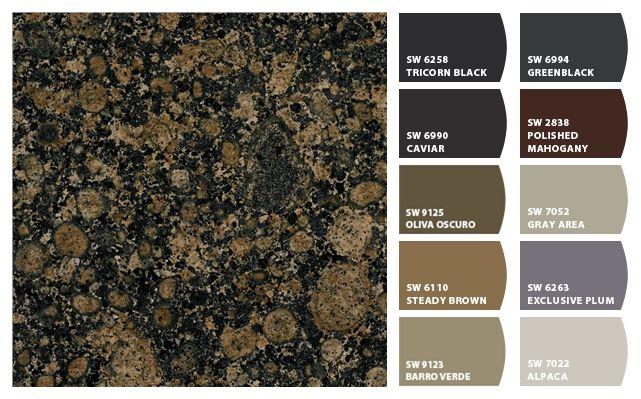 Paint Colors With Baltic Brown Granite Brown Granite Countertops