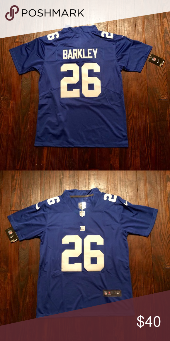 best service 29aea 81783 Saquon Barkley New York Giants Jersey Blue Stitched Jersey ...