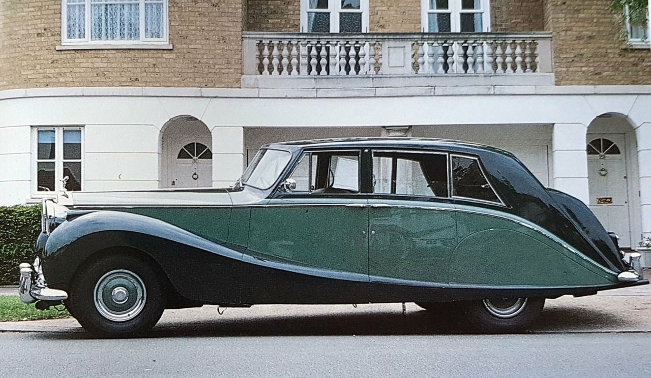 1955 Silver Wraith Touring Limousine By Hooper For A