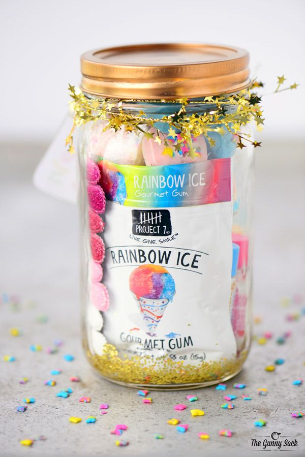 Unicorn Mason Jar Gift 11th Birthday Parties Party Gifts