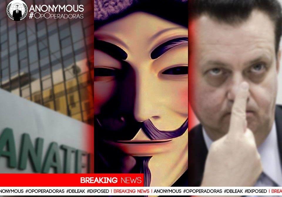Anonymous dá demonstração do que pode fazer e vaza dados pessoais de Kassab