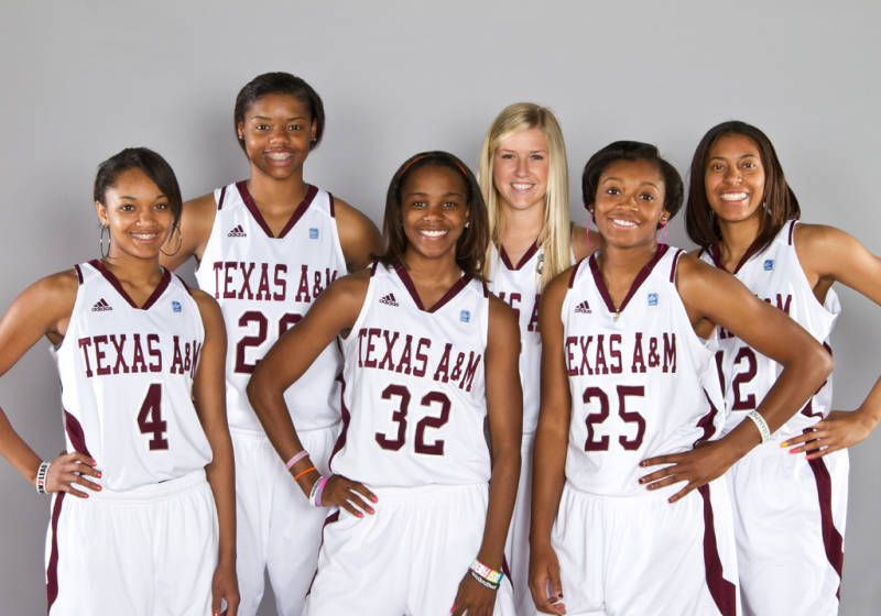 2012 S Texas A M Women S Basketball Incoming Freshman Class Womens Basketball National Champions Women