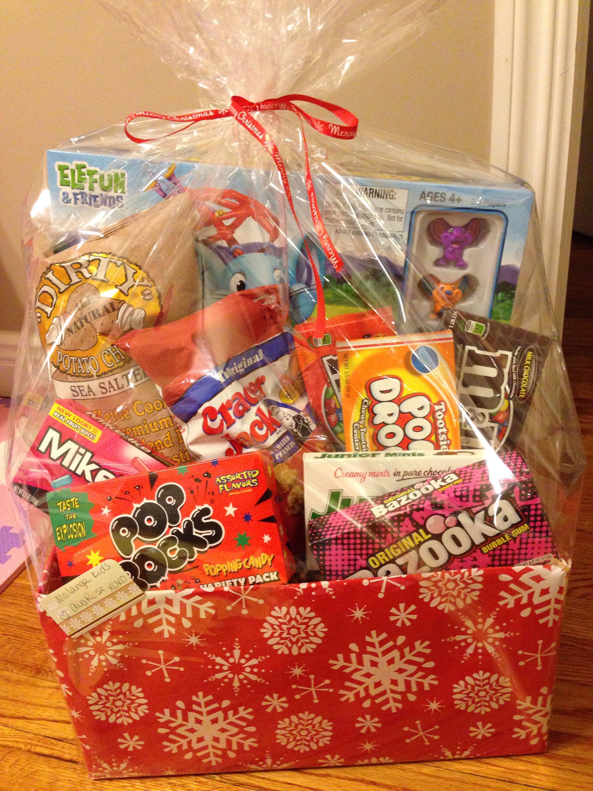 Family game night basket Christmas Pinterest More