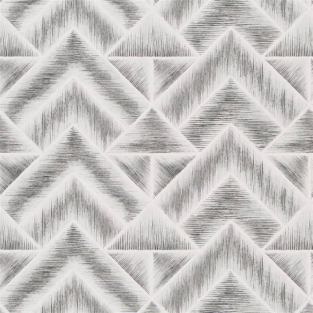 Designers Guild Mandora Graphite Wallpaper PDG104901