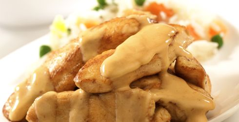 Recetas Nestle Fajitas De Pollo En Salsa De Chipotle Recetas Nestle 962 Food Food Recipes Cooking