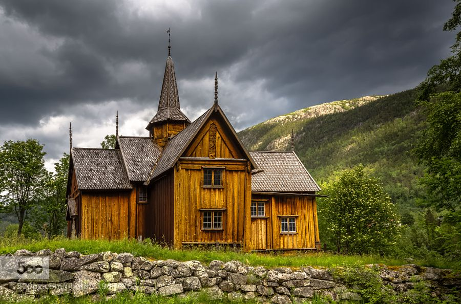 Nore Stave Church Norway by EuropeTrotter #landscape #travel