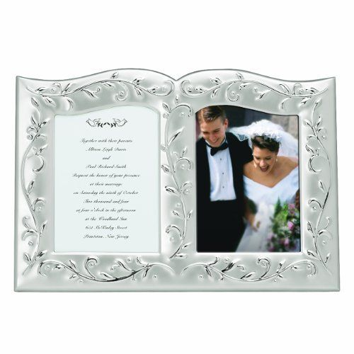 Lenox Opal Innocence Double Invitation Frame *** You can find out ...