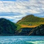 Островот Ellidaey, Исланд