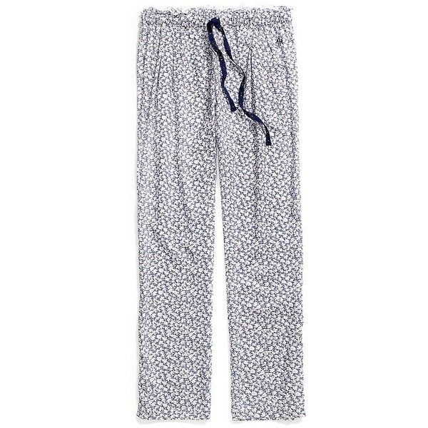 325375c31d81 Tommy Hilfiger Floral Sleep Pants (640 ARS) ❤ liked on Polyvore featuring  intimates, sleepwear, pajamas, tommy hilfiger, tommy hilfiger sleepwear and  tommy ...