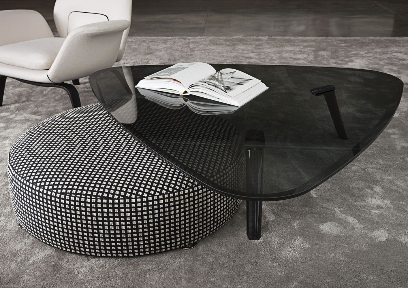 Coffee Table Contemporary Glass Aluminum Sullivan Minotti Sullivan Coffee Table Contemporary Coffee Table Coffee Table Design [ 1000 x 1415 Pixel ]