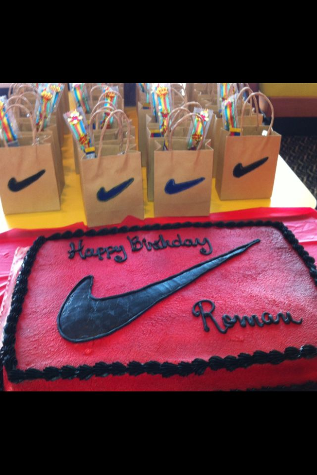 Just Do It Nike Party For Kids Pinterest