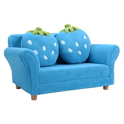 Costzon Kids Sofa Set Children Armrest Chair Lounge Couch