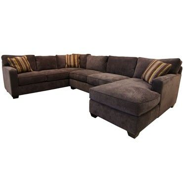 Jonathan Louis Bradford Albroke Plum Sectional Sectionals Living Room Gallery Furniture
