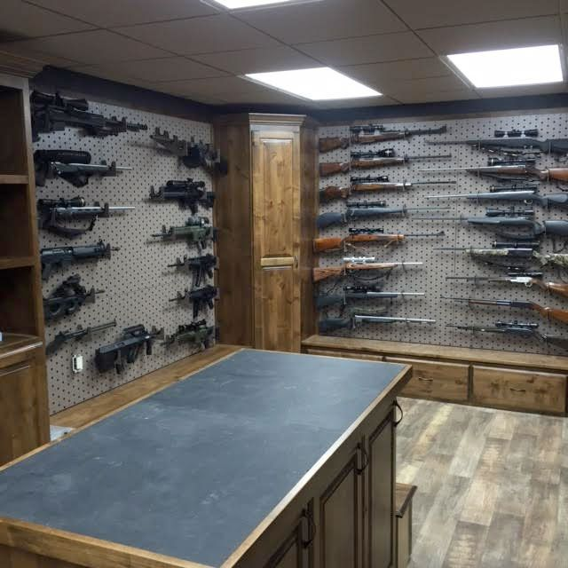 Gun room design gallow technologies a little of for Custom safe rooms