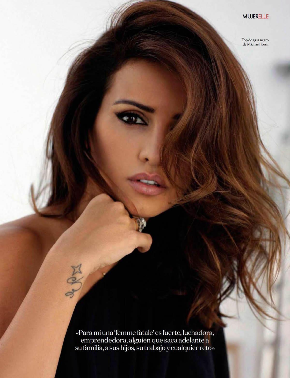 d81c540613 Monica Cruz by Bernardo Doral for Elle Spain November 2014