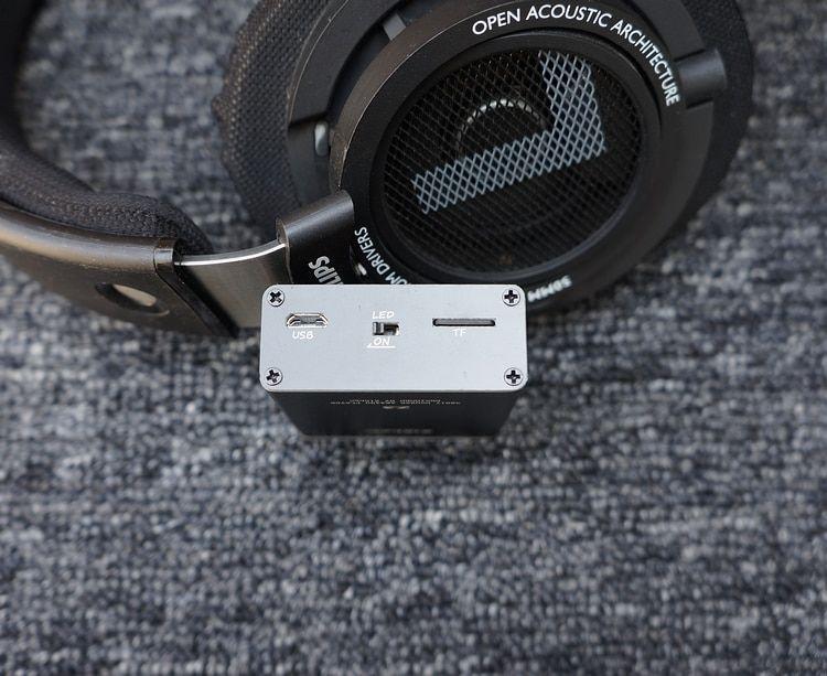 Portable DIY HiFi Music MP3 Player eadphone Amplifier DAC in