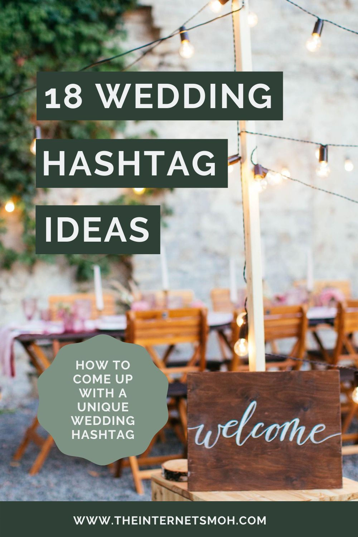18 Wedding Hashtag Ideas The Internet S Maid Of Honor In 2020 Wedding Hashtag Hashtag Ideas Wedding Hashtag Generator