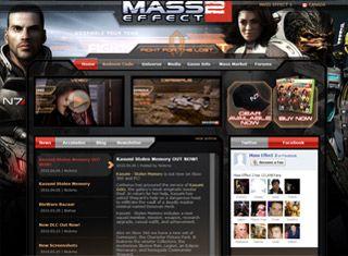 Video Game Web Design Design Example   Game Site comparison & UI ...