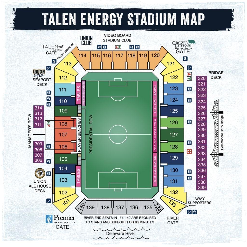 Riverside Stadium Seating Plan Seating Plan Stadium Seating Charts