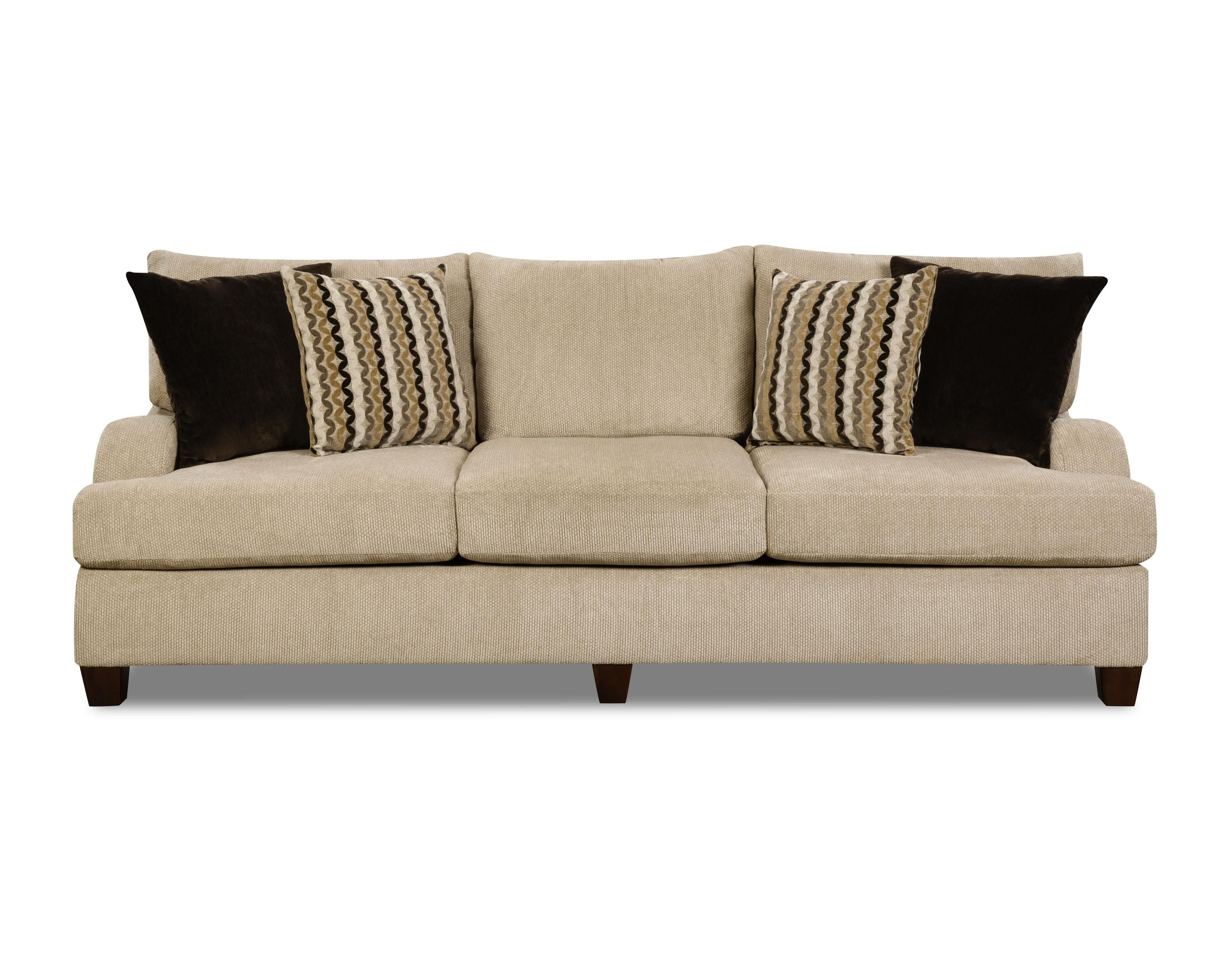 8520 Traditional Sofa with English Rolled Arms by Simmons Upholstery ...