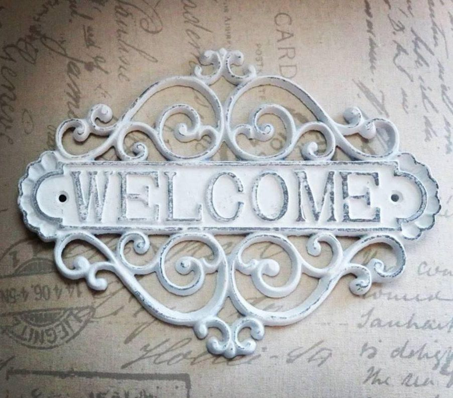 Welcome Sign, Entryway Sign, Welcome Sign for Front Porch, Welcome ...