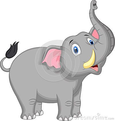 Dibujo Animado Lindo Del Elefante Ideias Instagram Animais Elefante