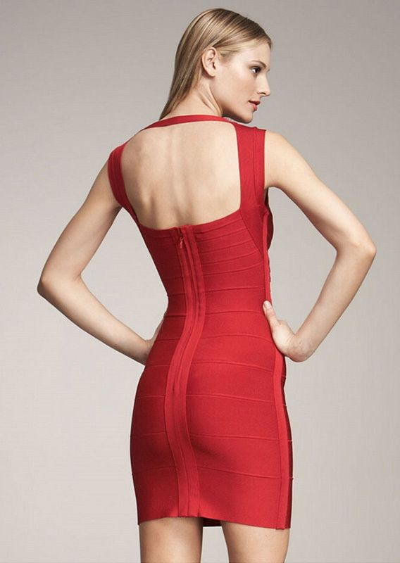 03f019d1e0a1 Morpheus Boutique - Red Tight Banded Backless Designer Dress, $129.99  (http://